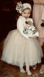 Find unique and traditional ideas for your flower girl.  Dresses, baskets, flower girl headpieces, and other great inspiration.