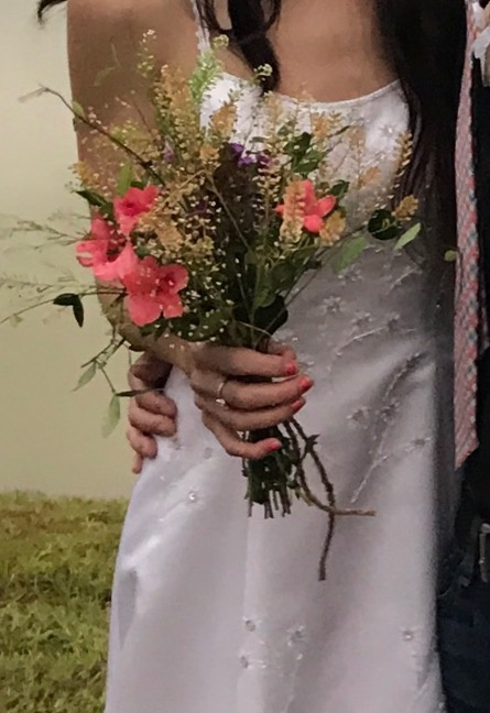 Choosing your wedding flowers another way of saving money on wedding flowers is to use silk many silk flowers look so real you have to really examine them or touch them to know the mightylinksfo