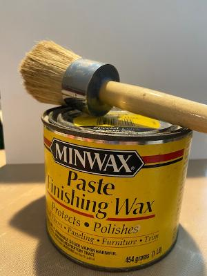 Minwax Dark Finishing Wax